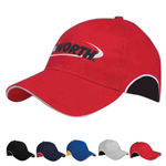 Cotton Twill Sandwich Visor Cap