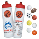 26 Oz Stress Reliever Ball Water Bottle