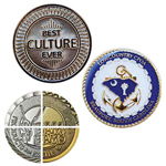 Nickel Plating Challenge Coin