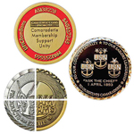 Gold Plating Challenge Coin