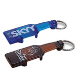 Bottle Shaped Opener Keychain