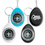 Oval Shape Compass Key Tag