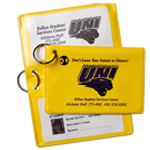 Vinyl Id Holder Keychain