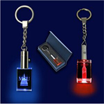 Crystal Led Keychain