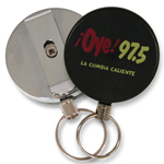 Round Retractable Key Reel