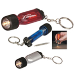 Mini Screwdriver Keychain With Ligh