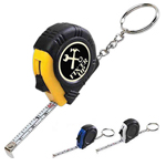 Rubber Tape Measure Keychain