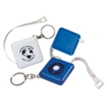 Retractable Tape Measure Key Chain