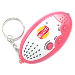Recordable Sound Keychain