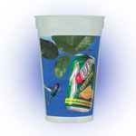 Nite-Glow 1 Side Color Stadium Cup
