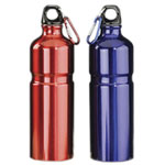 Aluminum Bottle With Carabiner Keyc