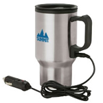 Stainless Steel Heated Travel Mug
