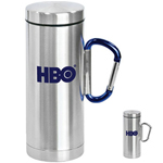 Carabiner Clip 12 Oz Travel Mug