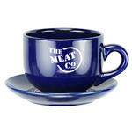 16 Oz Soup Mug With Saucer