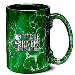 Marbelized Ceramic Mug