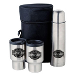 25 Oz Steel Travel Mug Set