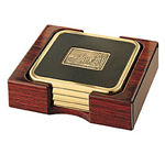 Dymondwood Four Coaster Set