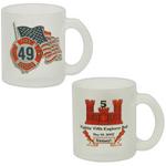 11 Oz Glass Coffee Mug With Handle