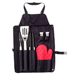 7 Piece Barbecue Apron Set