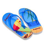 Full Color Print Flip Flop Sandal