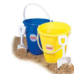 6 Inch Kid Pail with Shovel