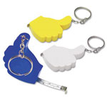 Ok Tape Measure Keyring