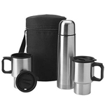 Polyester Stainless Travel Set