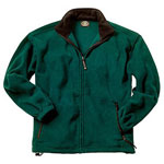Fleece Jacket With Elasticized Cuff