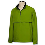 Mens Long Sleeve Half Zip Windshirt