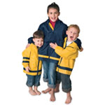 Children Rainwear With Zippered Side Pocket