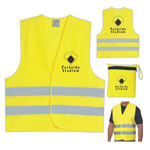 Safety Vest With Zippered Pouch