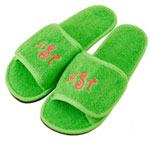 Cotton Terry Fabric Slipper