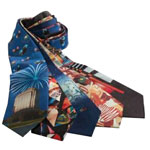 Four Color Process Silk Tie
