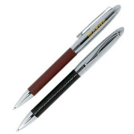 Leather Wrap Ballpoint Pen