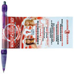 Pull Out Banner Pen