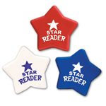 Star Shape Eraser