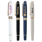 Cap-off Rollerball Metal Pen
