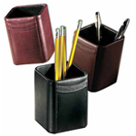 Cowhide Leather Pen Holder