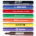 Chisel Tip Permanent Ink Markers