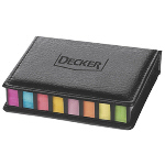 Leatherette Sticky Note Organizer
