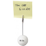 Golf Ball-Shaped Memo Holder