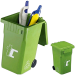 Recycling Bin Shape Pen Holder