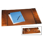 Distressed Leather Desk Pad