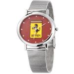 Silvertone Mesh Strap Watch