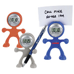 Flex Man Digital Alarm Clock