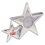 Metal Star Analog Clock