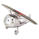 Die Cast Airplane Analog Clock