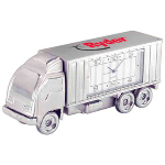 Die Cast Semi Truck Desk Clock