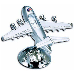Die Cast Airplane Clock