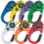 Carabiner Stopwatch with Compass